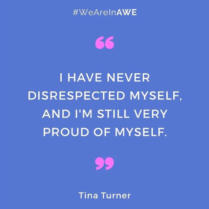 Quote by Tina Turner