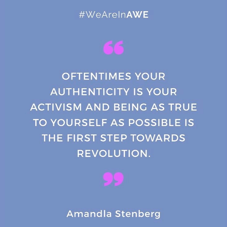 Quote by Amandla Stenberg