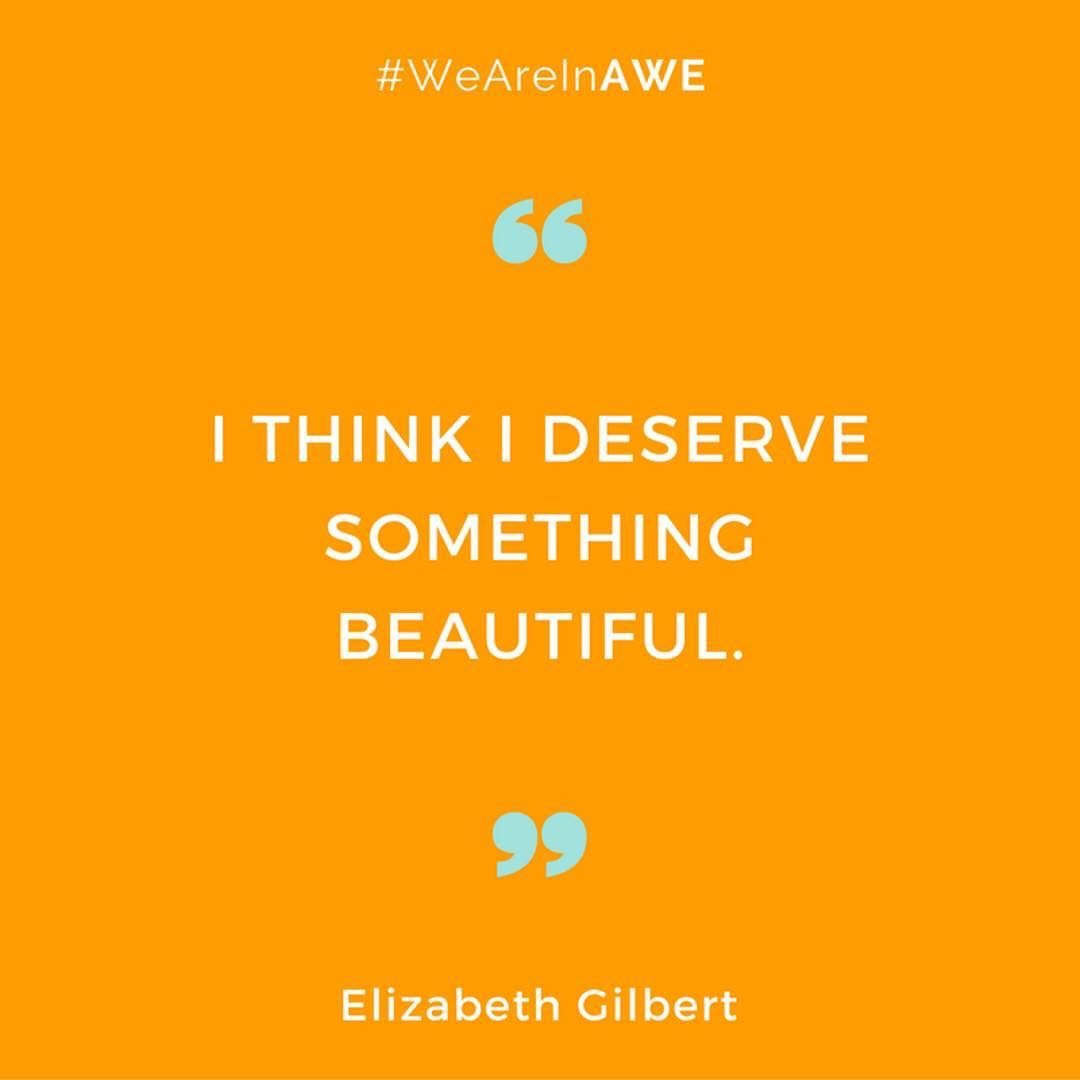 Quote by Elizabeth Gilbert