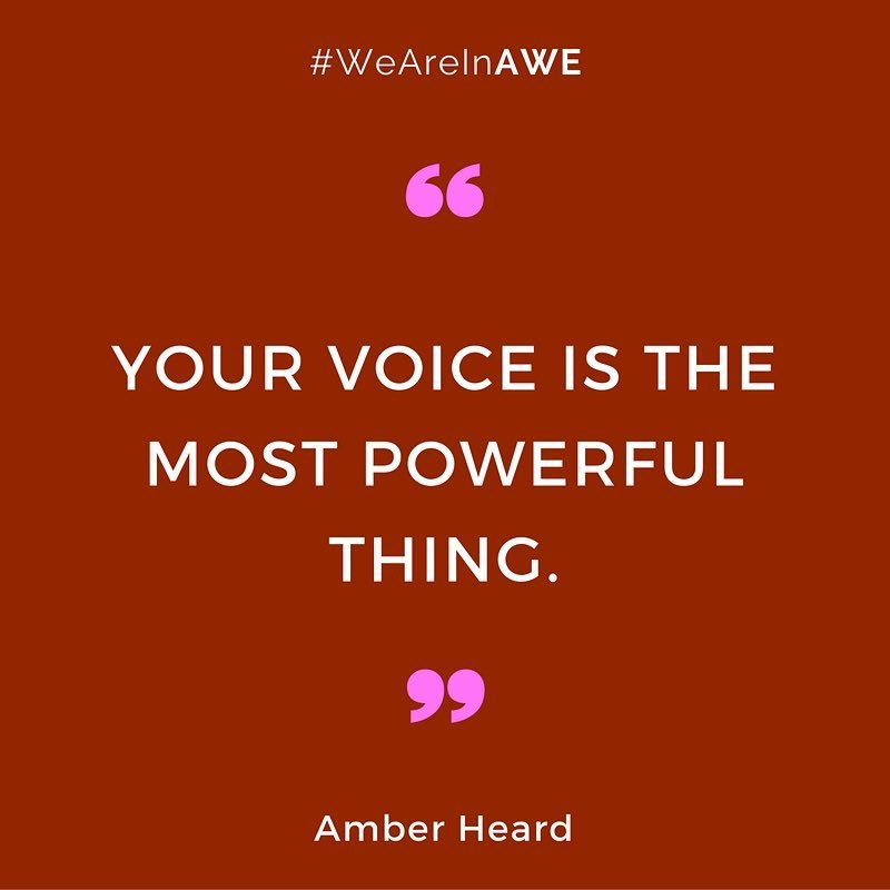 Quote by Amber heard