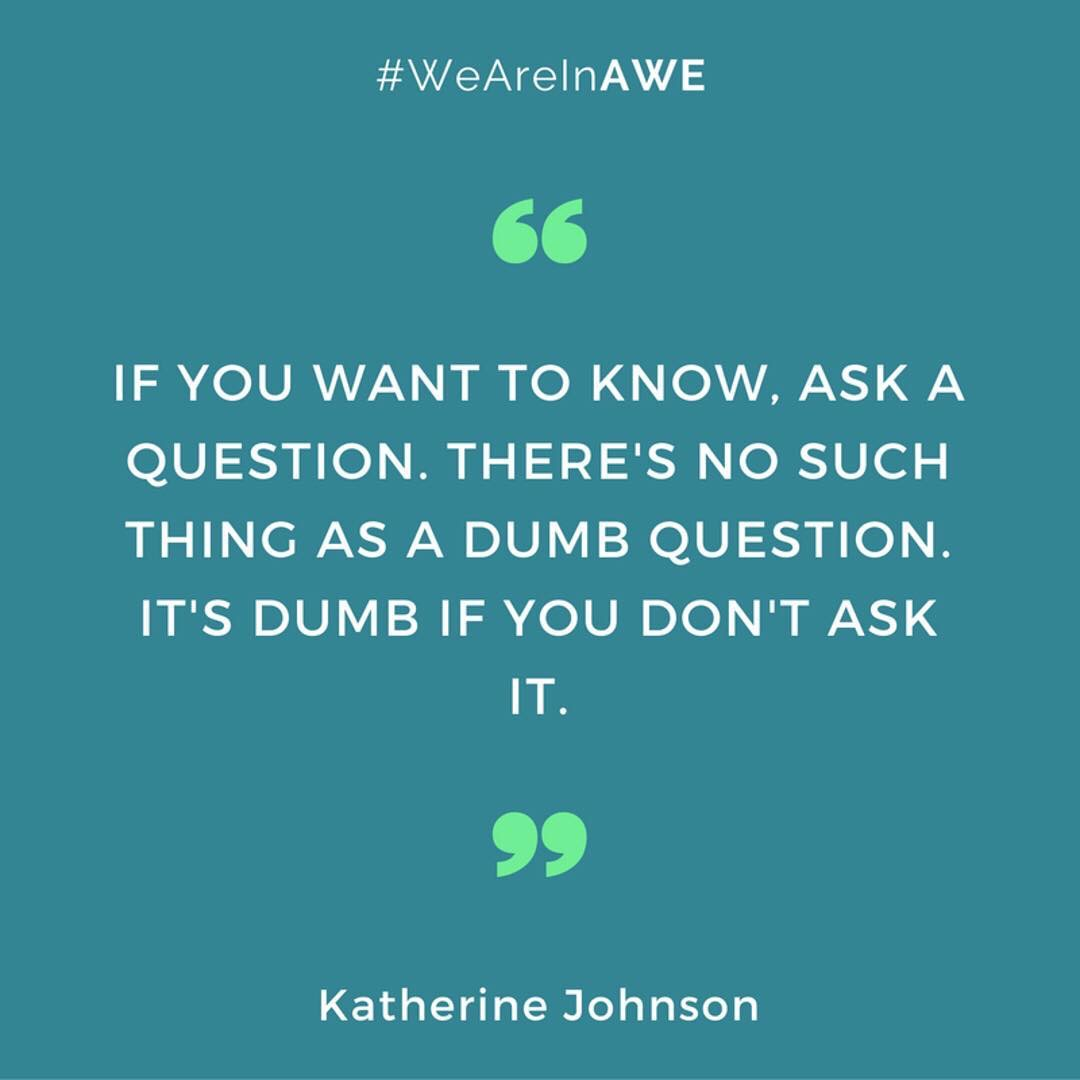 Quote by Katherine Johnson