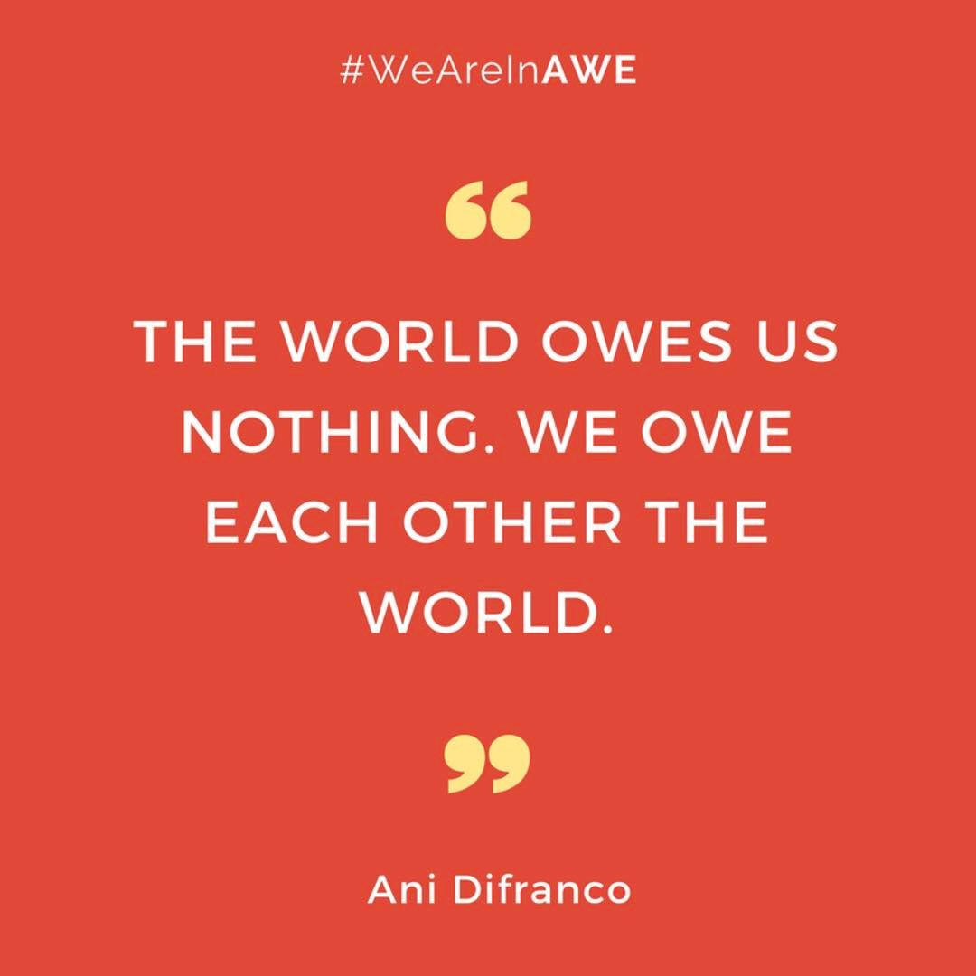 Quote by Ani Difranco