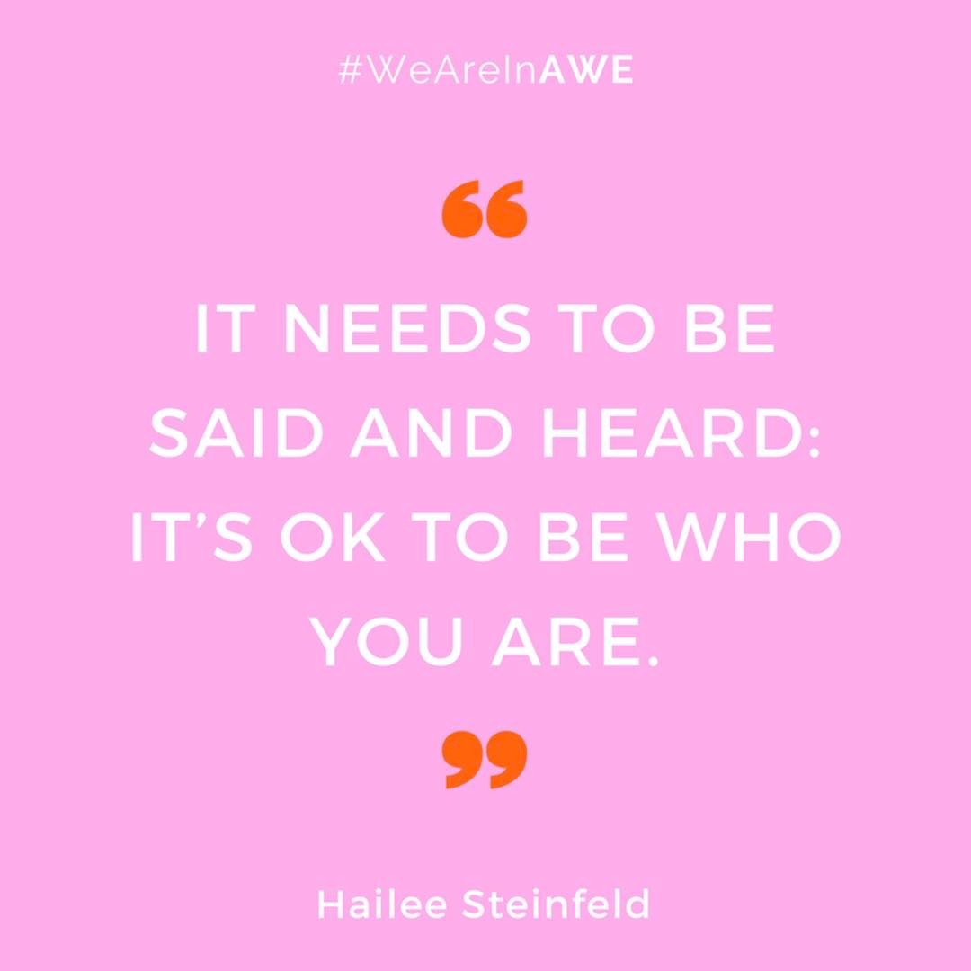 Quote by Hailee Steinfeld