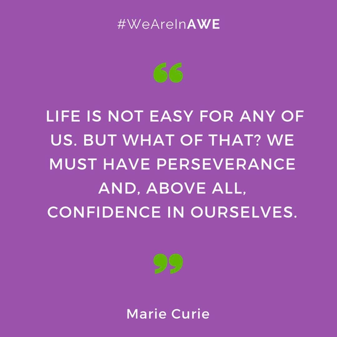 Quote by Marie Curie