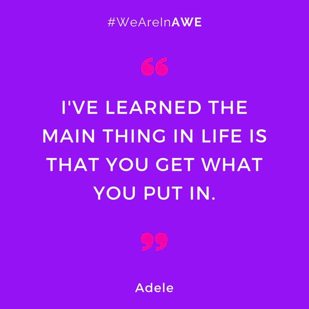 Quote by Adele