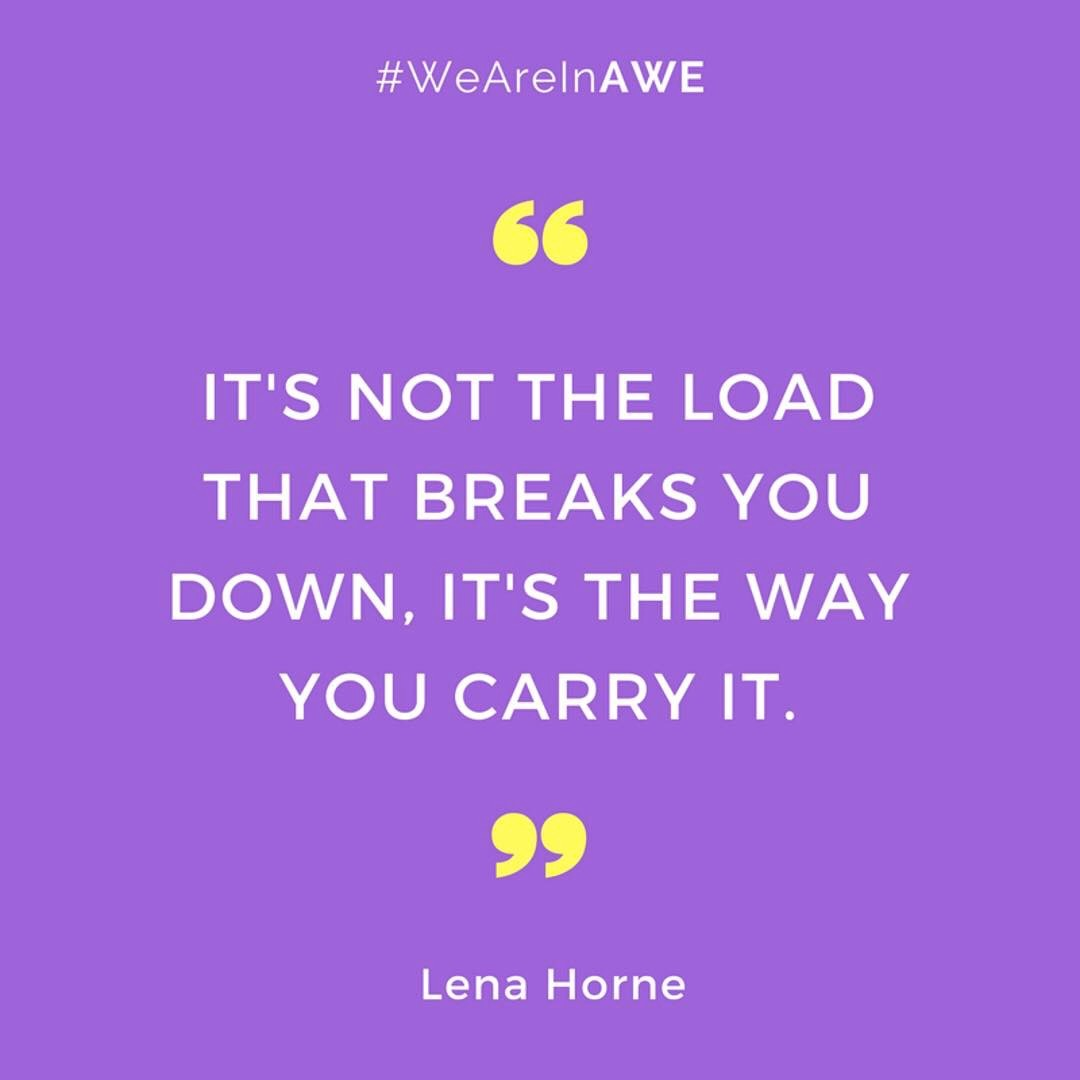 Quote by Lena Horne