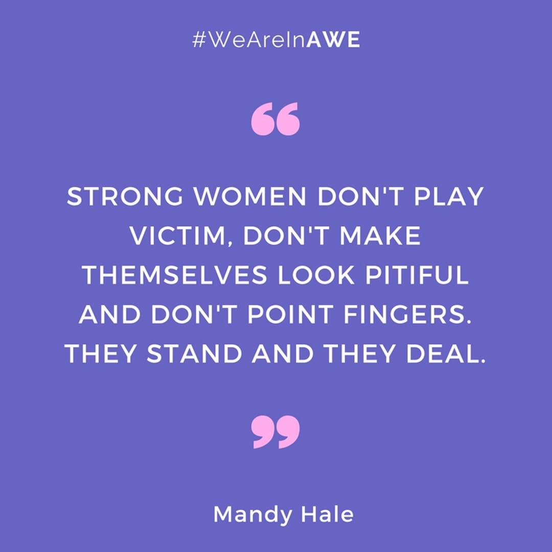 Quote by Mandy Hale