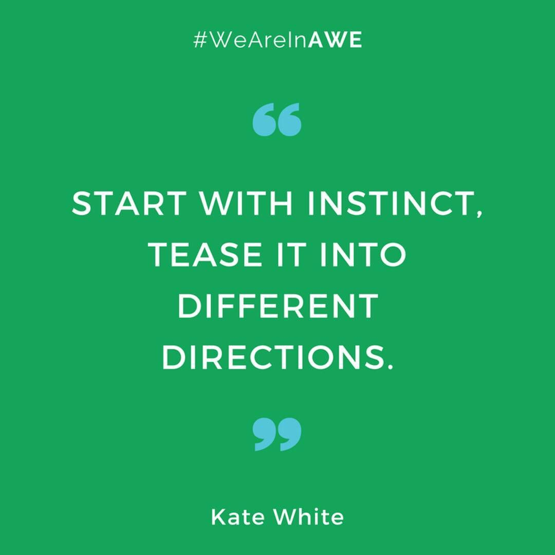 Quote by Kate White