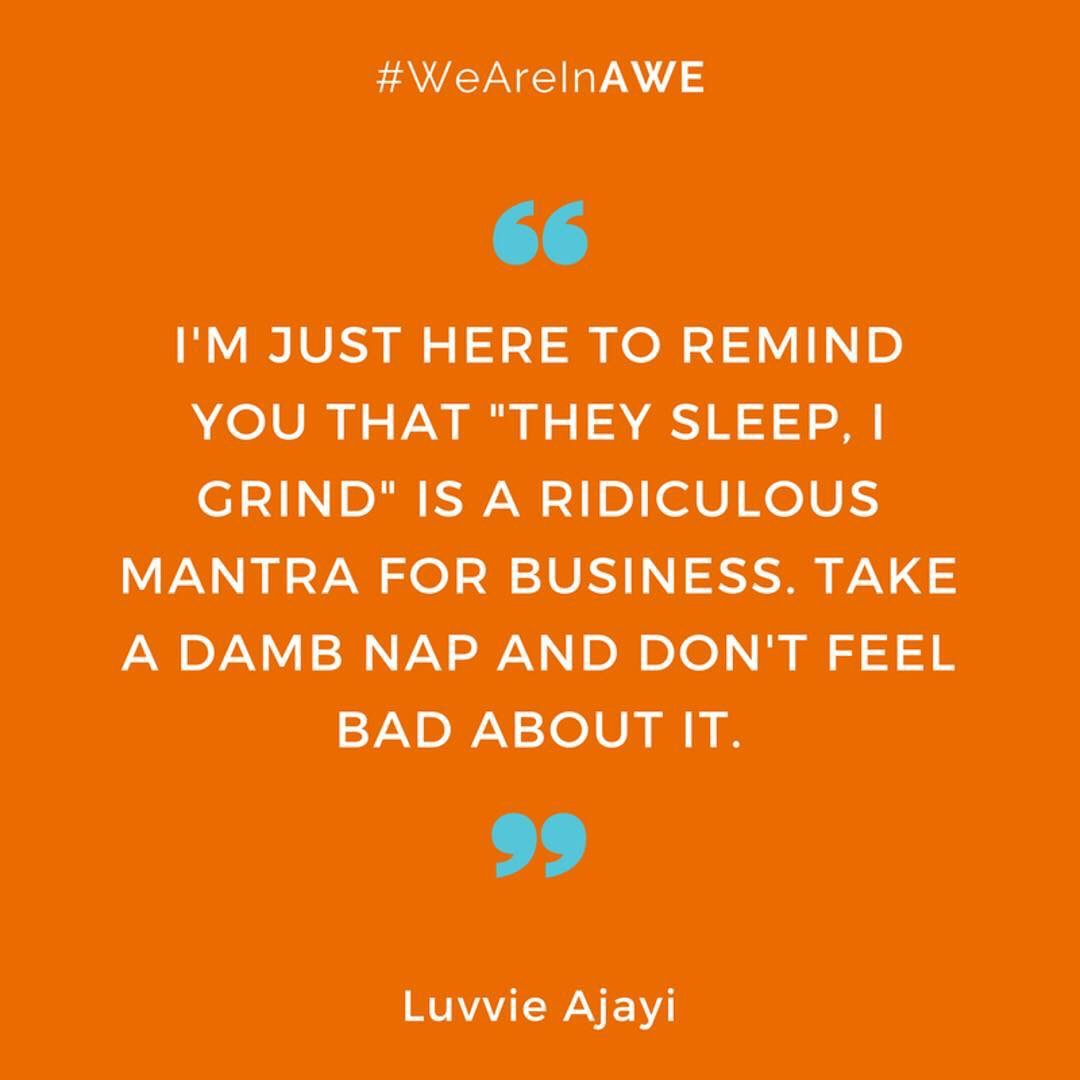 Quote by Luvvie Ajayi