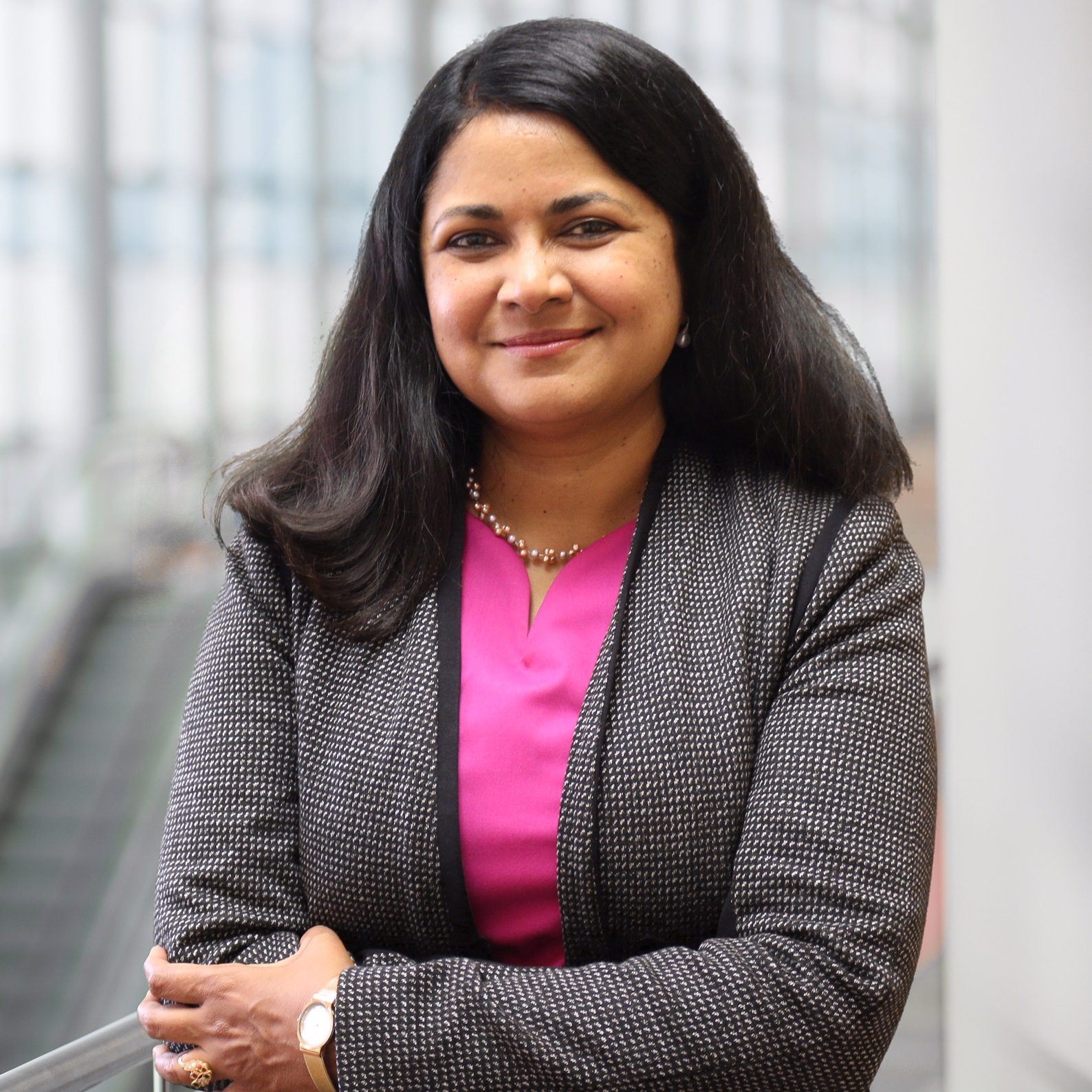 Dr. Uma Jayaram, Advancing Women Executives Leader