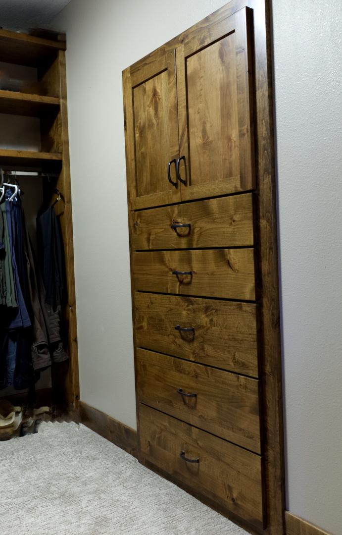 Inlaid Closet Dresser