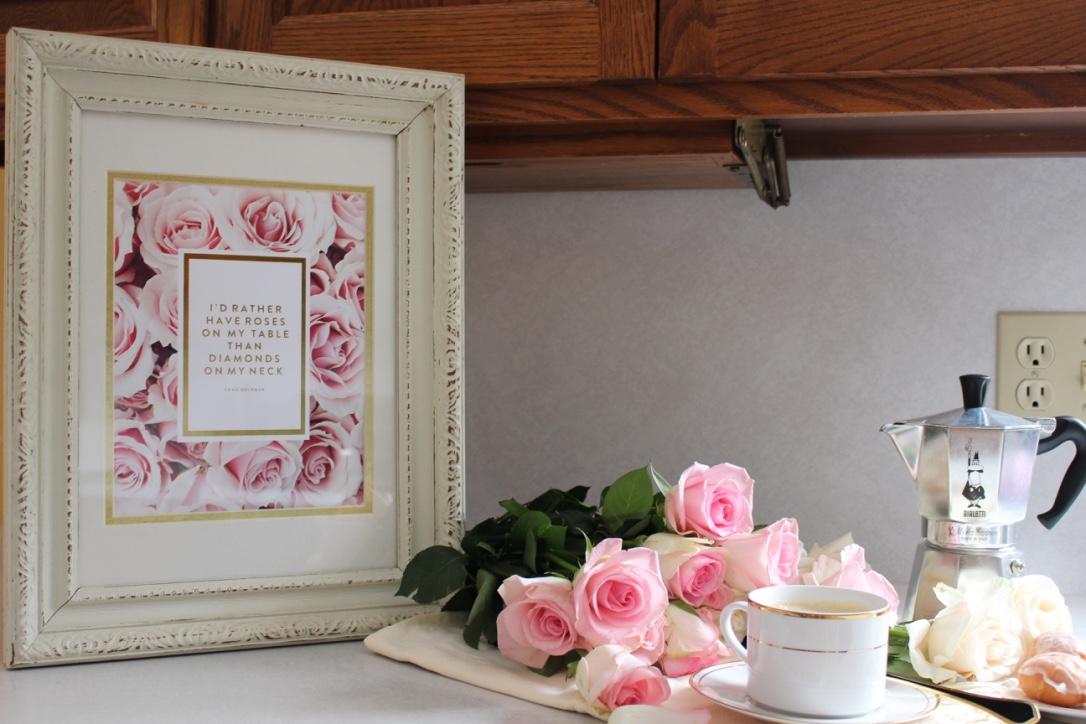 "Love | ""I'd rather have roses on my table than diamonds on my neck."" Emma Goldman | loveshyla.com #valentinesday"