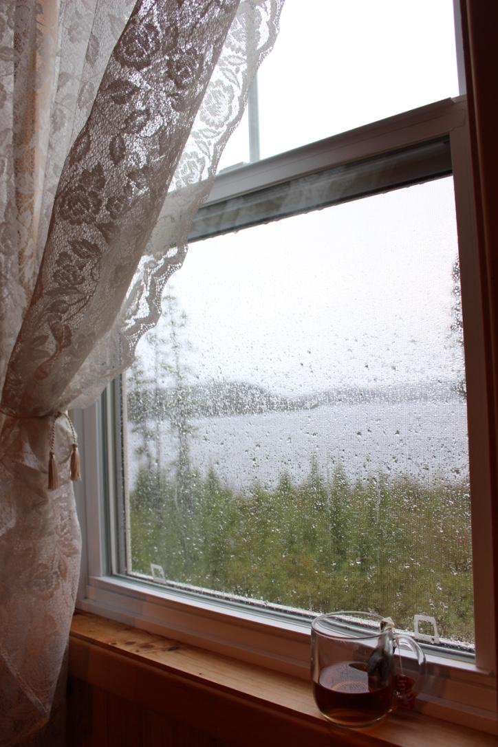 A Week In the Wilderness of Quebec | Rainy Window | Loveshyla.com