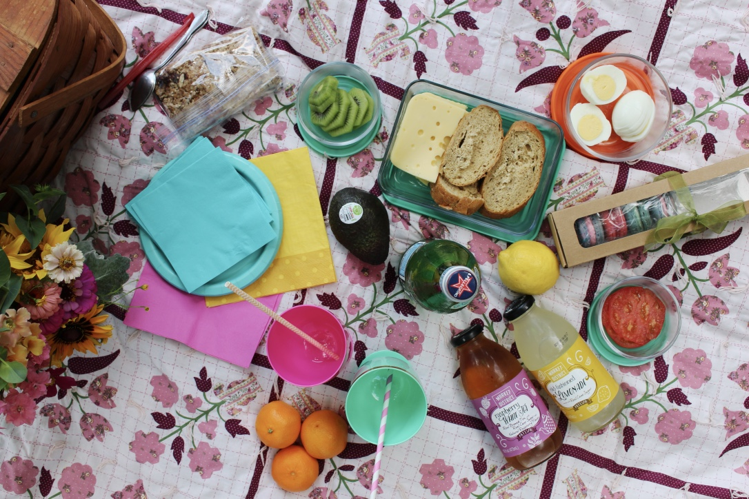 Summer Picnic | Colorful | Navigating Happy As An Adult | Loveshyla.com