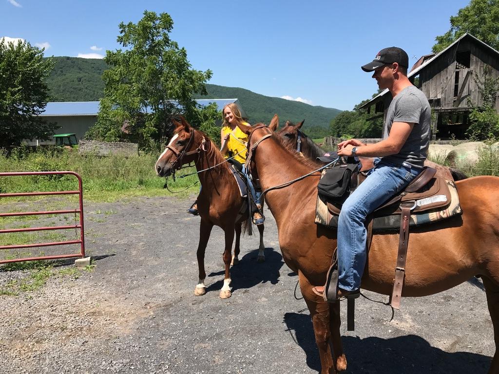 Seneca Rocks   Wild & Wonderful West Virginia, Travel Journal   Horseback Riding
