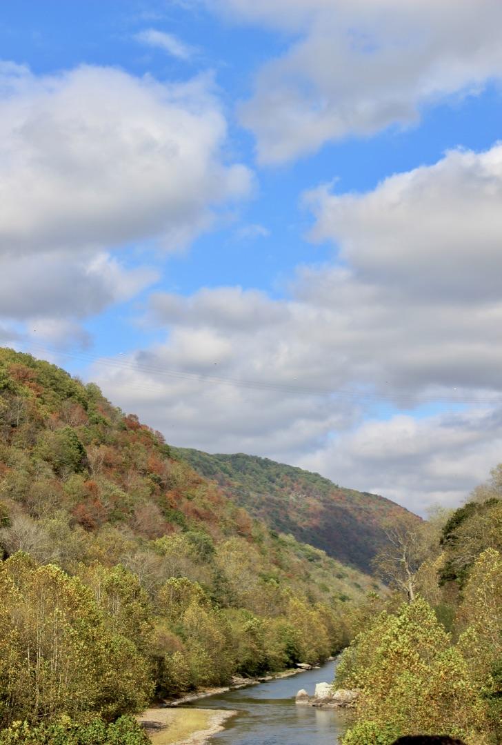 Fall Eagle Train Ride Along the Potomac River, Romney, West Virginia | Wild & Wonderful West Virginia Tour Guide | Love Shyla