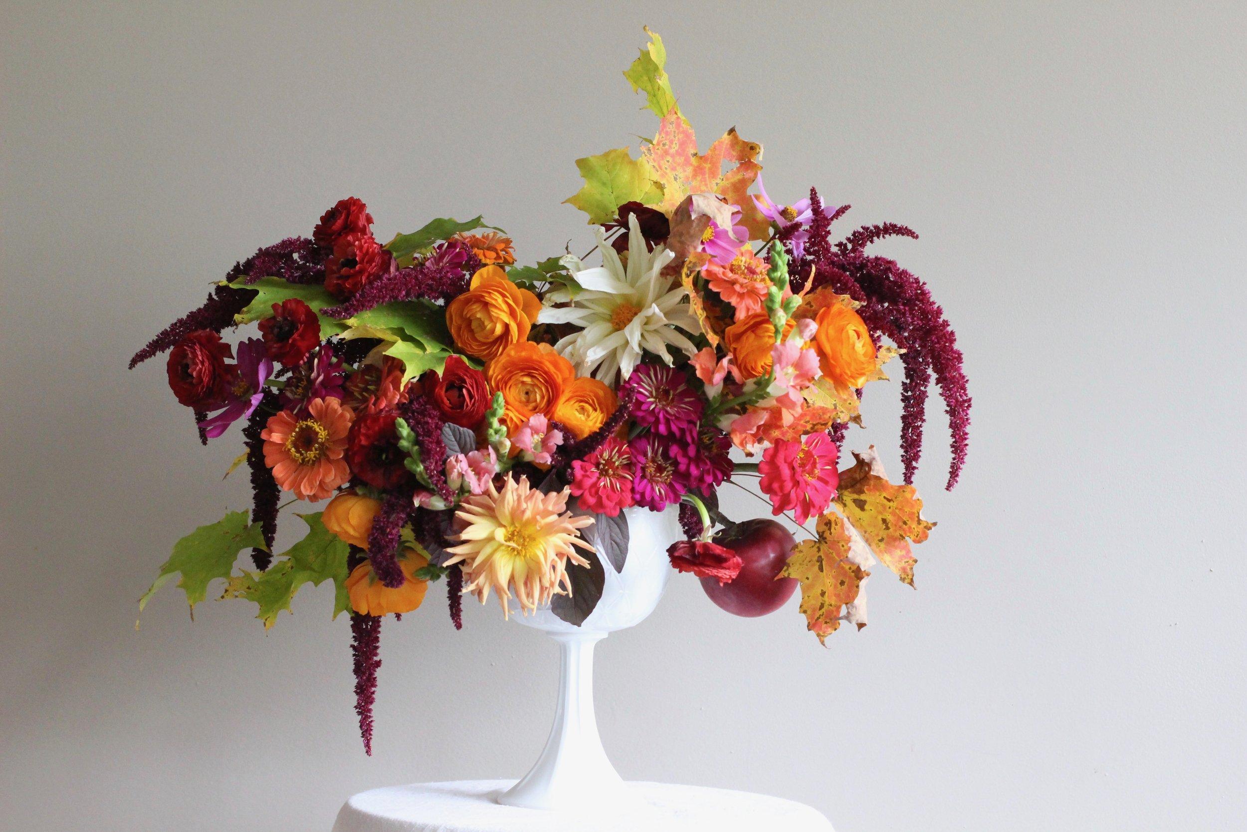 Bowl Full of Fruit Harvest Bouquet | Florist | Loveshyla.com