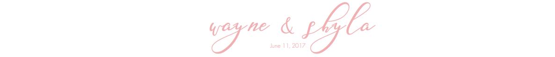 Wayne & Shyla Wedding | June 11, 2017