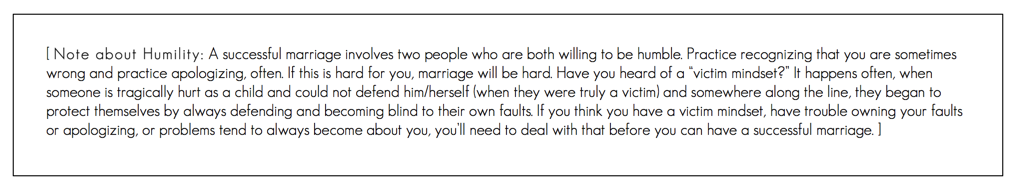 Note About Humility | Loveshyla.com