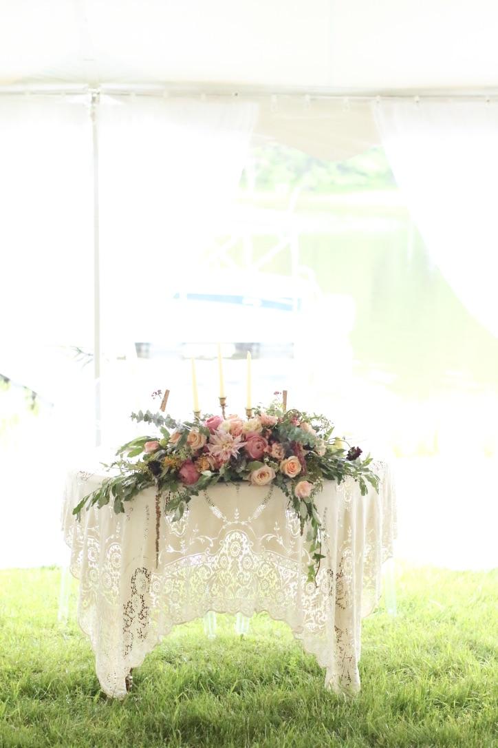 Summer Boho Wedding Florals by Love Shyla