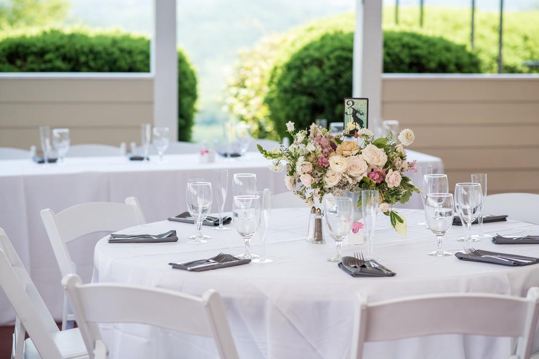 Lush Feminine Wedding Florals | Benton Grove Bed & Banquet, Morgantown, West Virginia, Flowers: Love Shyla.jpg