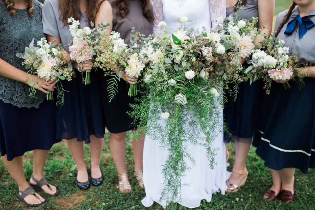 Wild, Natural Wedding Flowers by Love Shyla