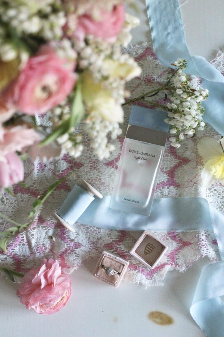 Spring Wedding | Pretty Pink Hues & Cinderella Blue by Love Shyla Florals