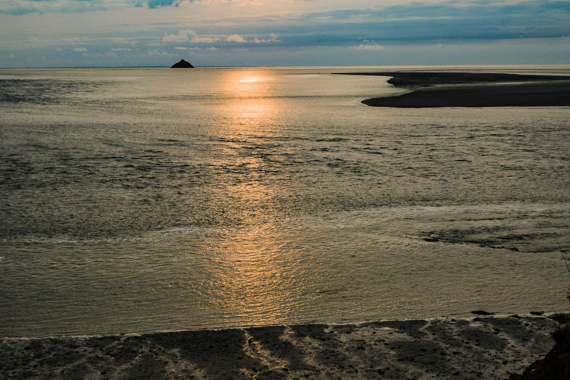 Bay of Mont St Michel