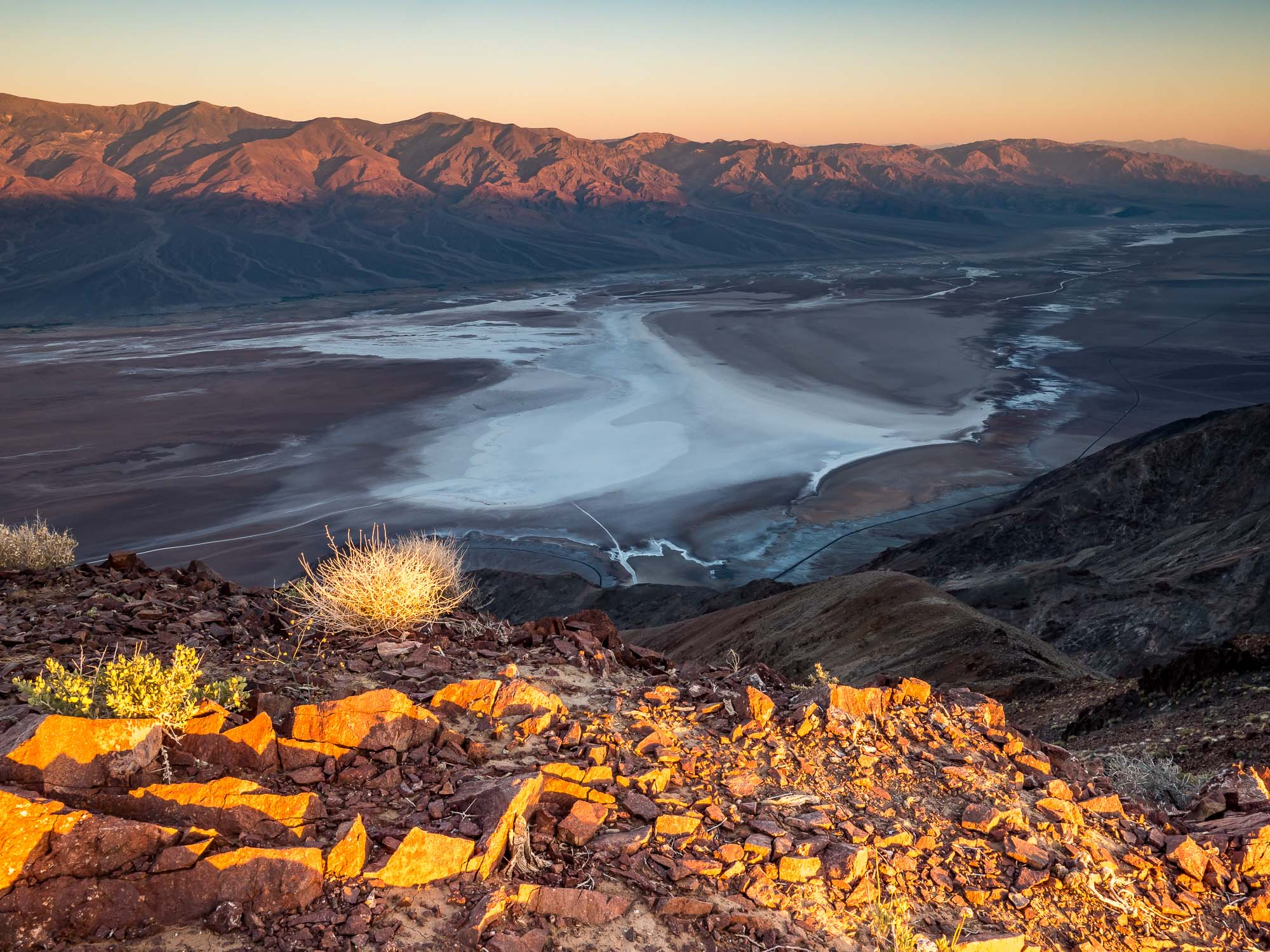 Dantes View - Death Valley