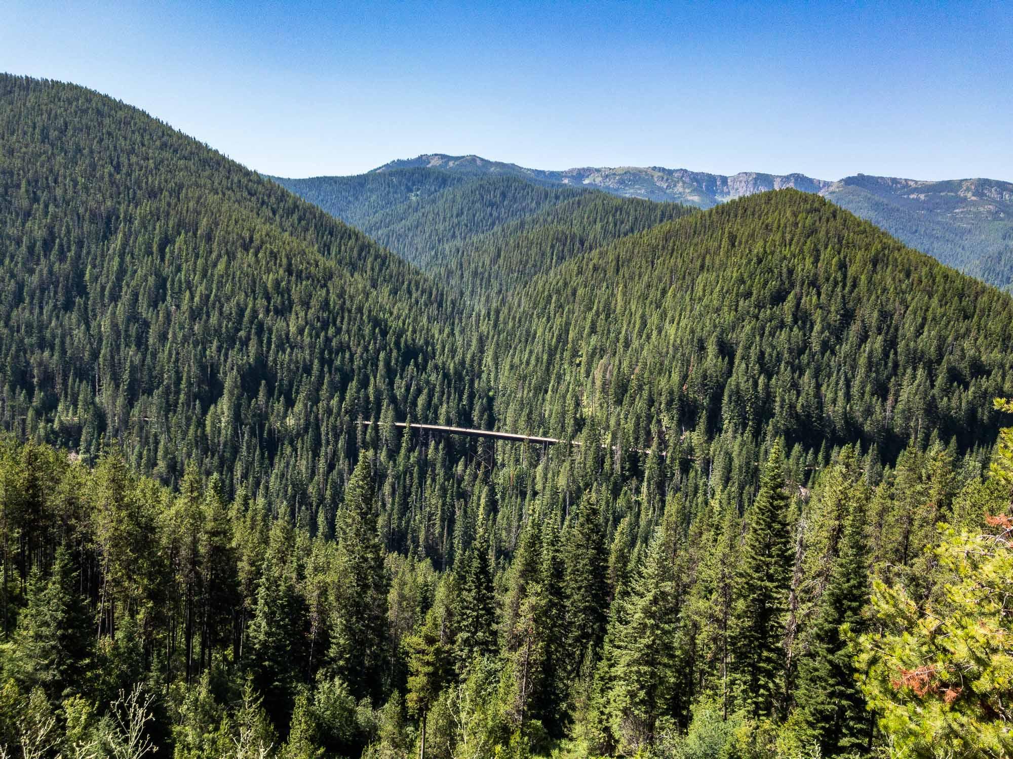 Hiawatha Trail Trestle