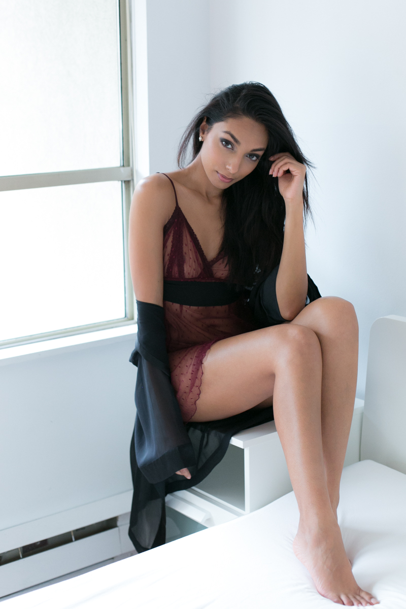 Vancouver fashion portrait photographer Scarlet Lingerie Shop