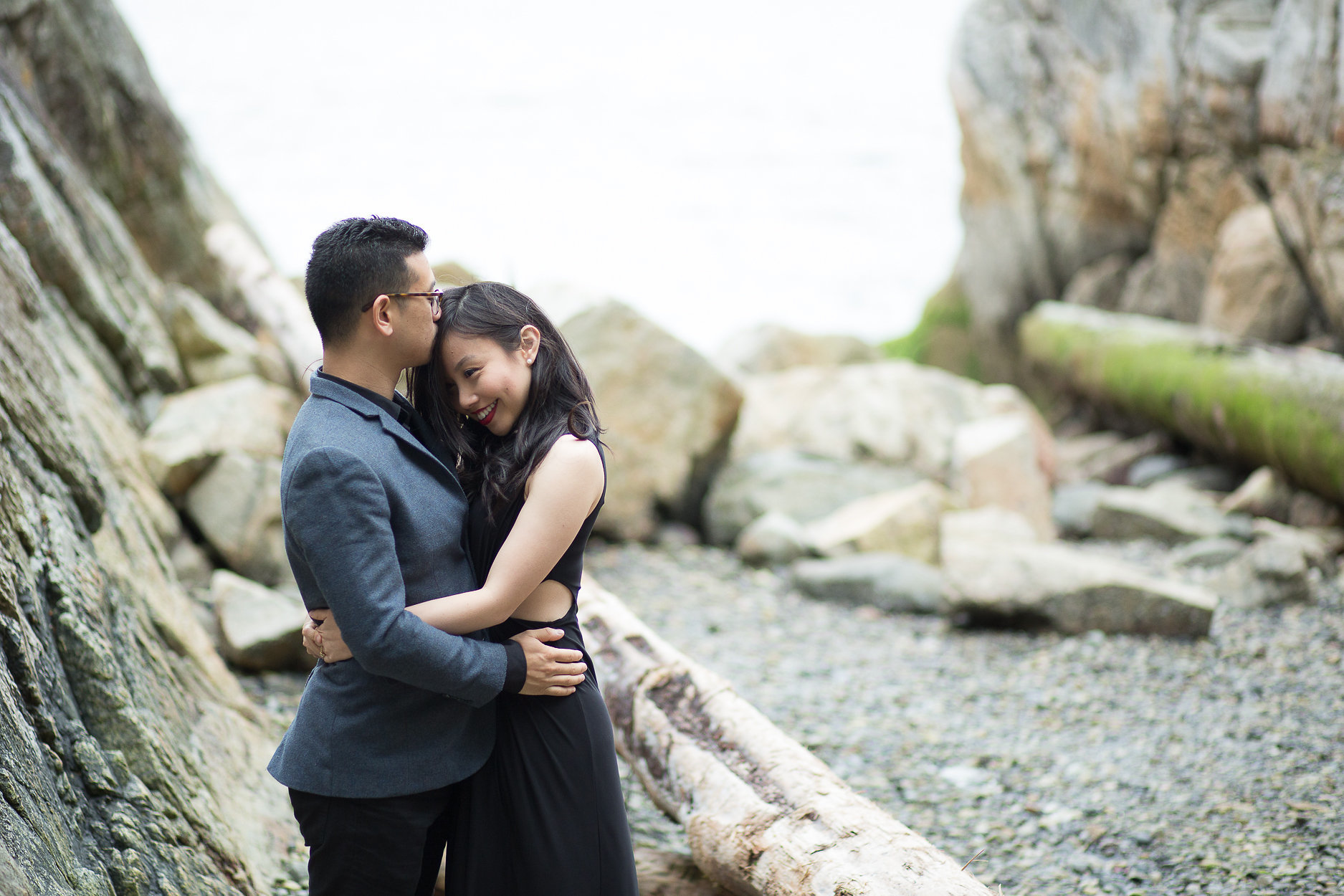 Whytecliff Park West Vancouver Engagement - Jenny Liu Photography