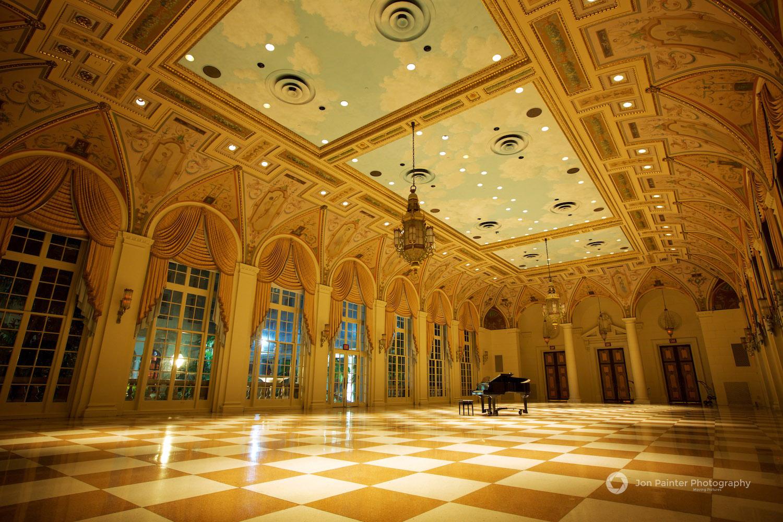 The Mediterranean Ballroom at The Breakers, Palm Beach, Florida