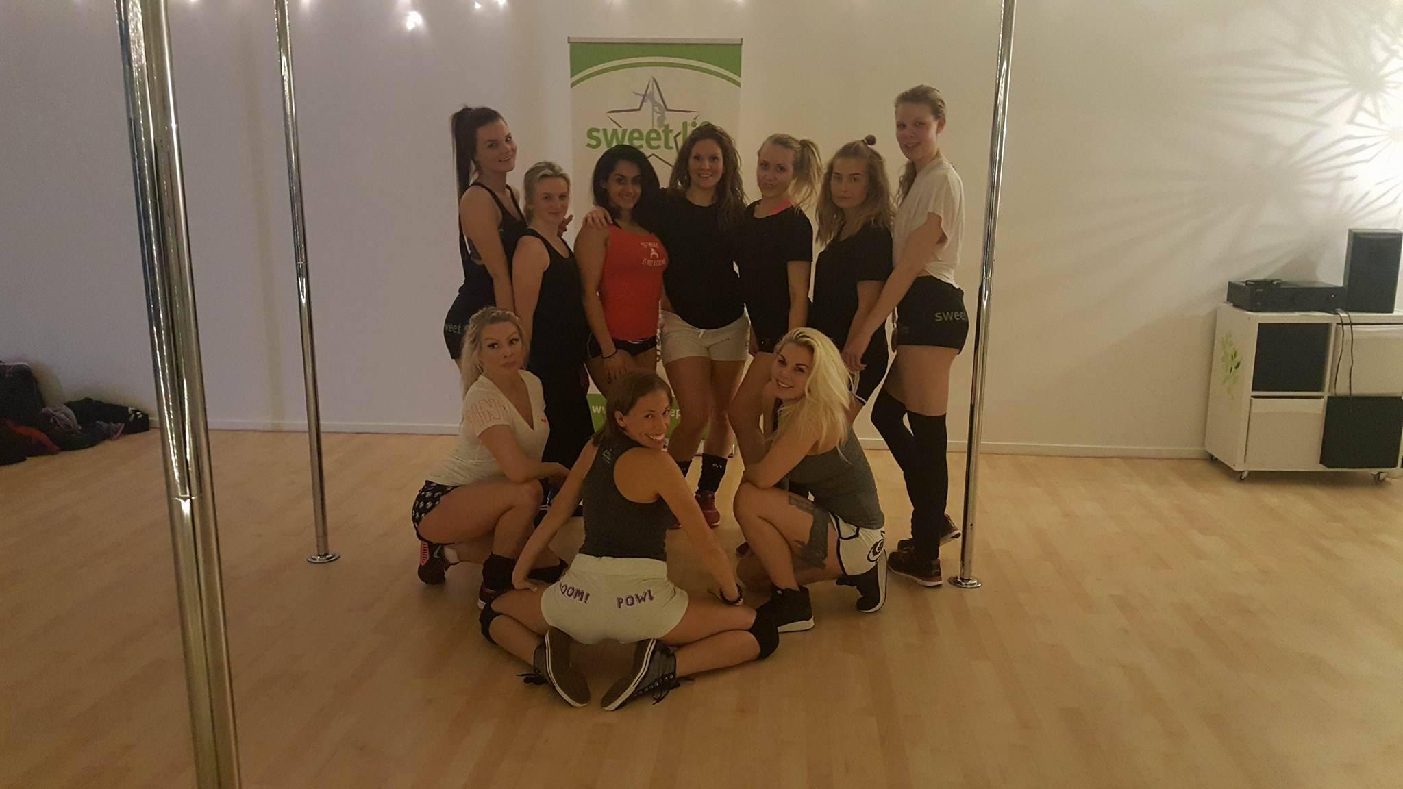 Booty Dance Workshop Sweden February 2017