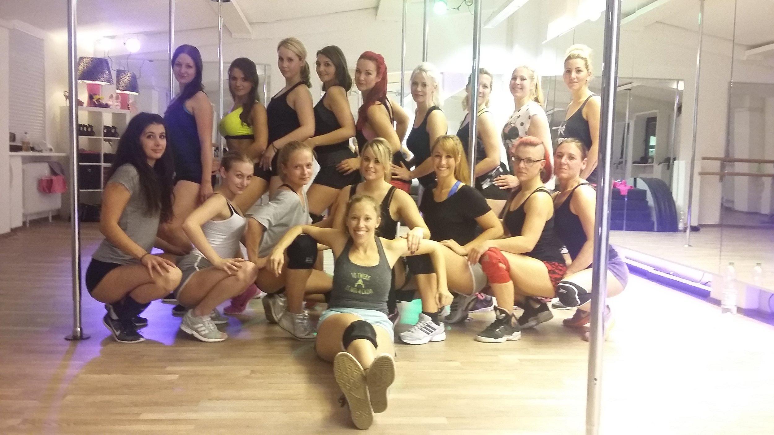 Booty Dance Workshop Wolfsburg October 2015