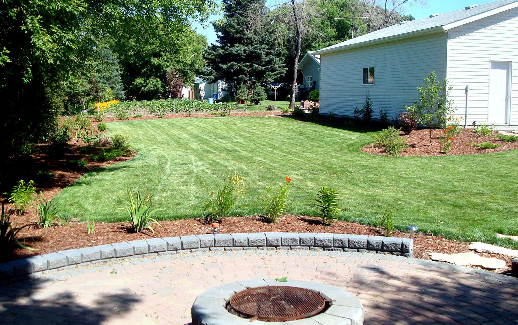 full yard landscaping