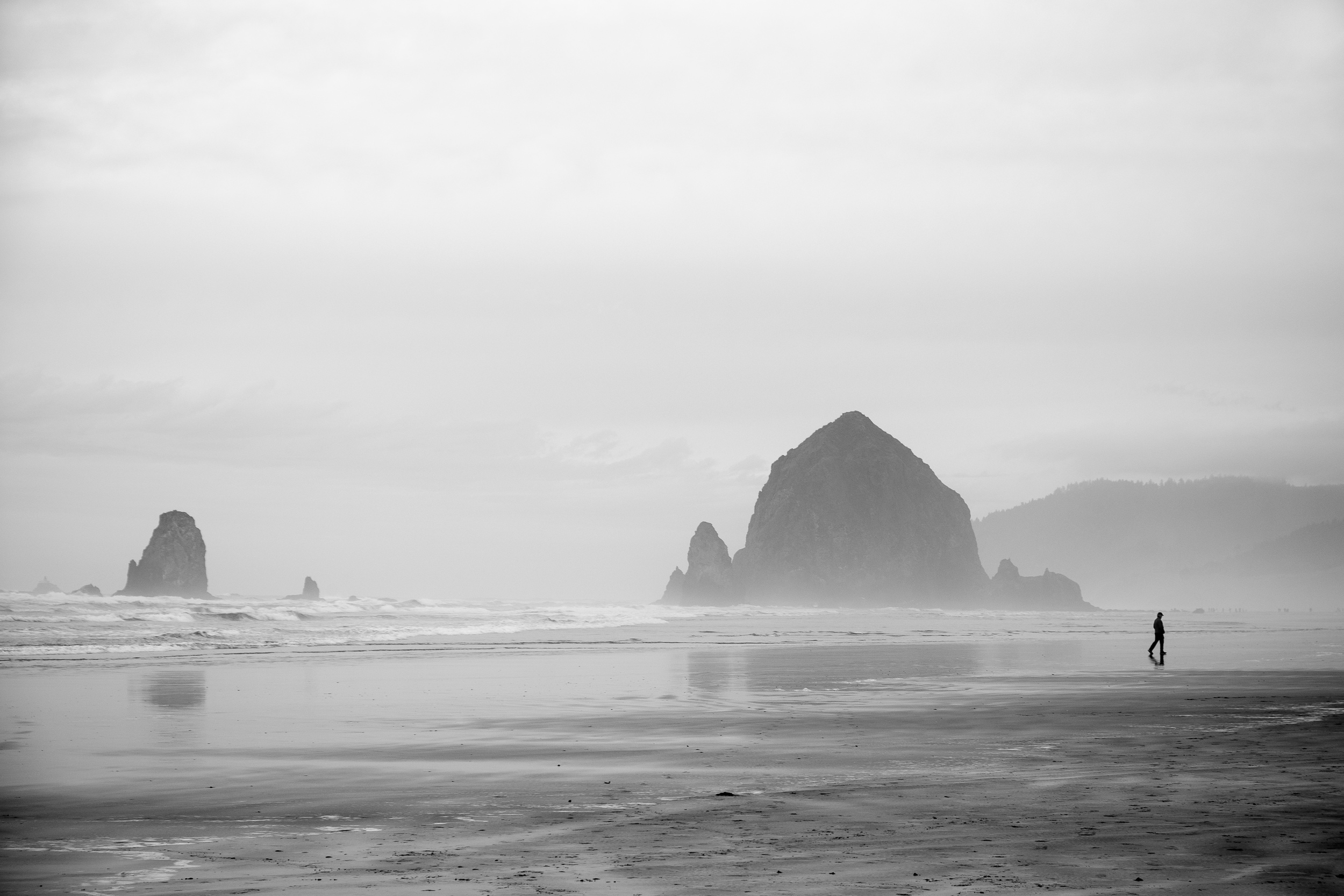 Haystack Rock, made famous by such movies as The Goonies.