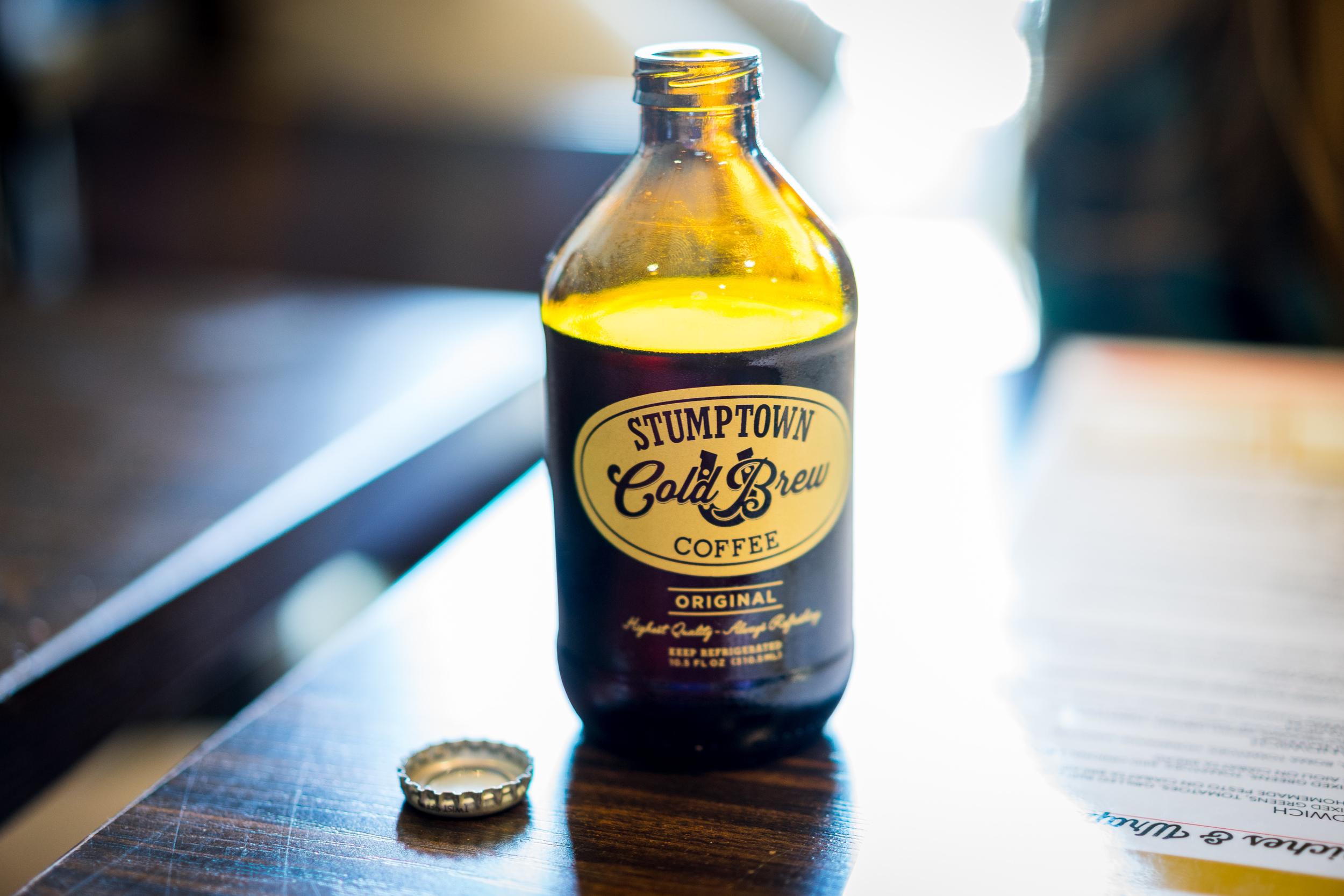 Stumptown Cold Brew.