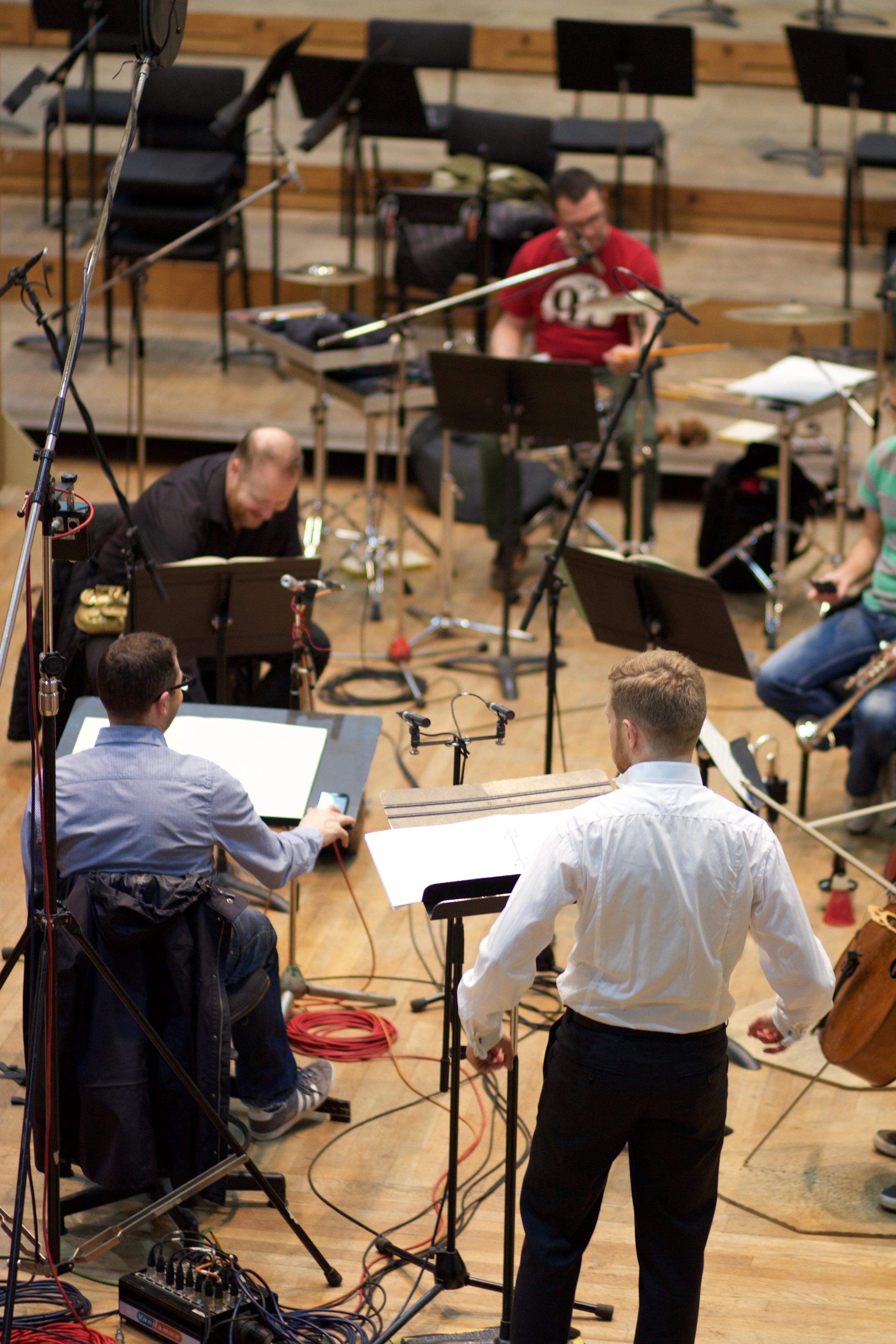 Recording Façade by William Walton