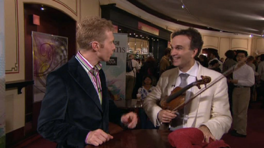 Talking Strads with Gil Shaham