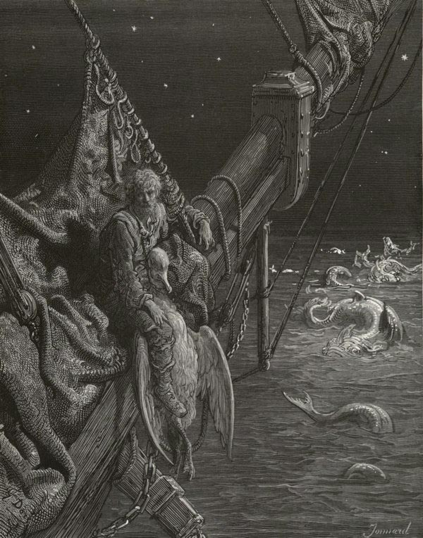 The Rime of the Ancient Mariner, illustrated by Gustave Dore