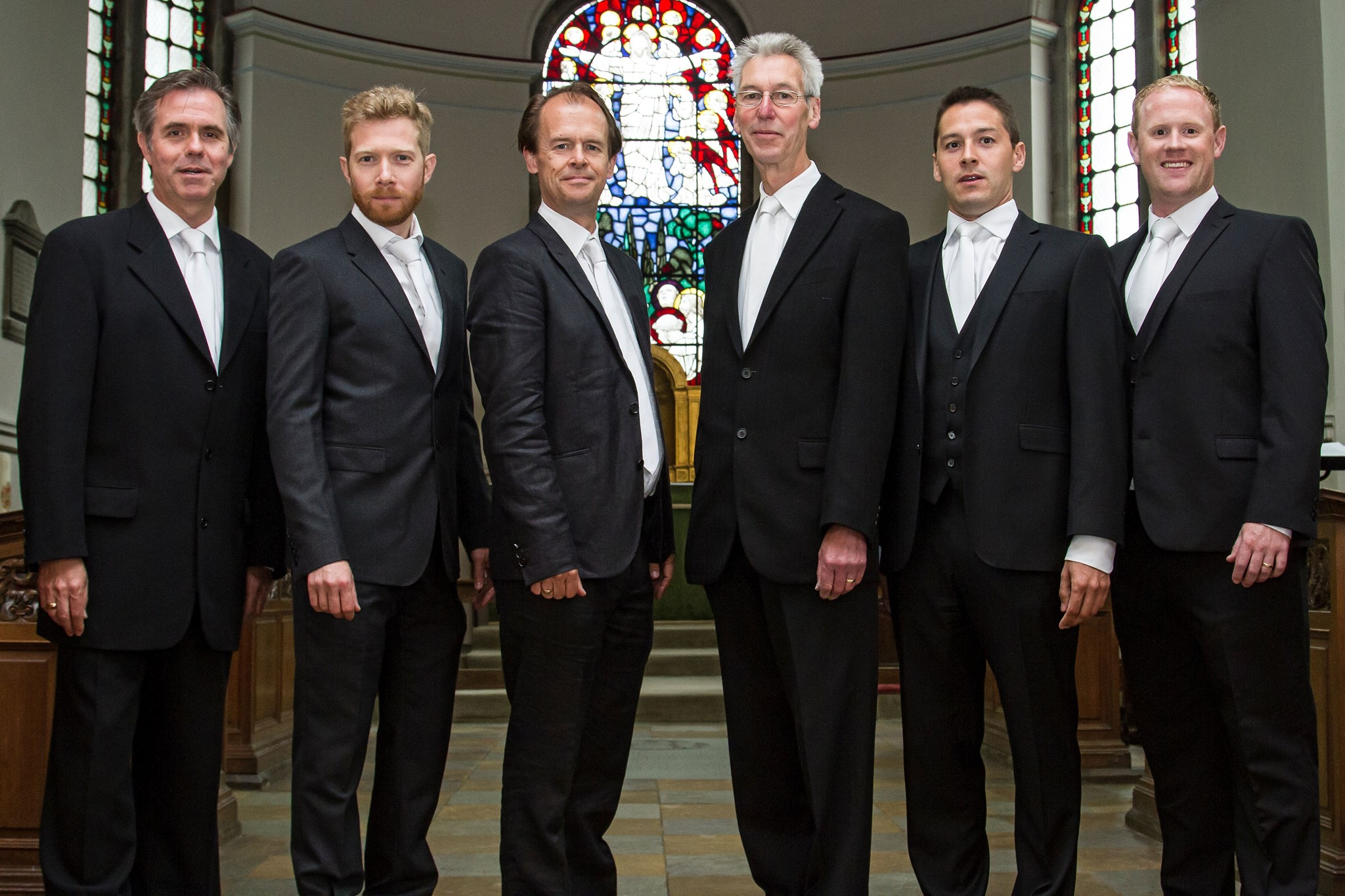 Opus Anglicanum - bewitching sequences of words and music performed by five voices and their narrator, Zeb Soanes.