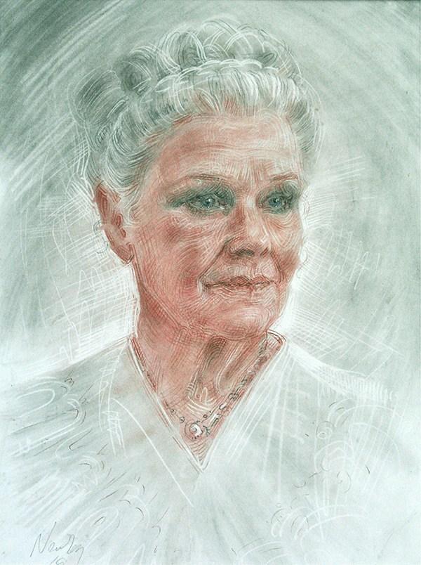 Dame Judi Dench by Alexander Newley