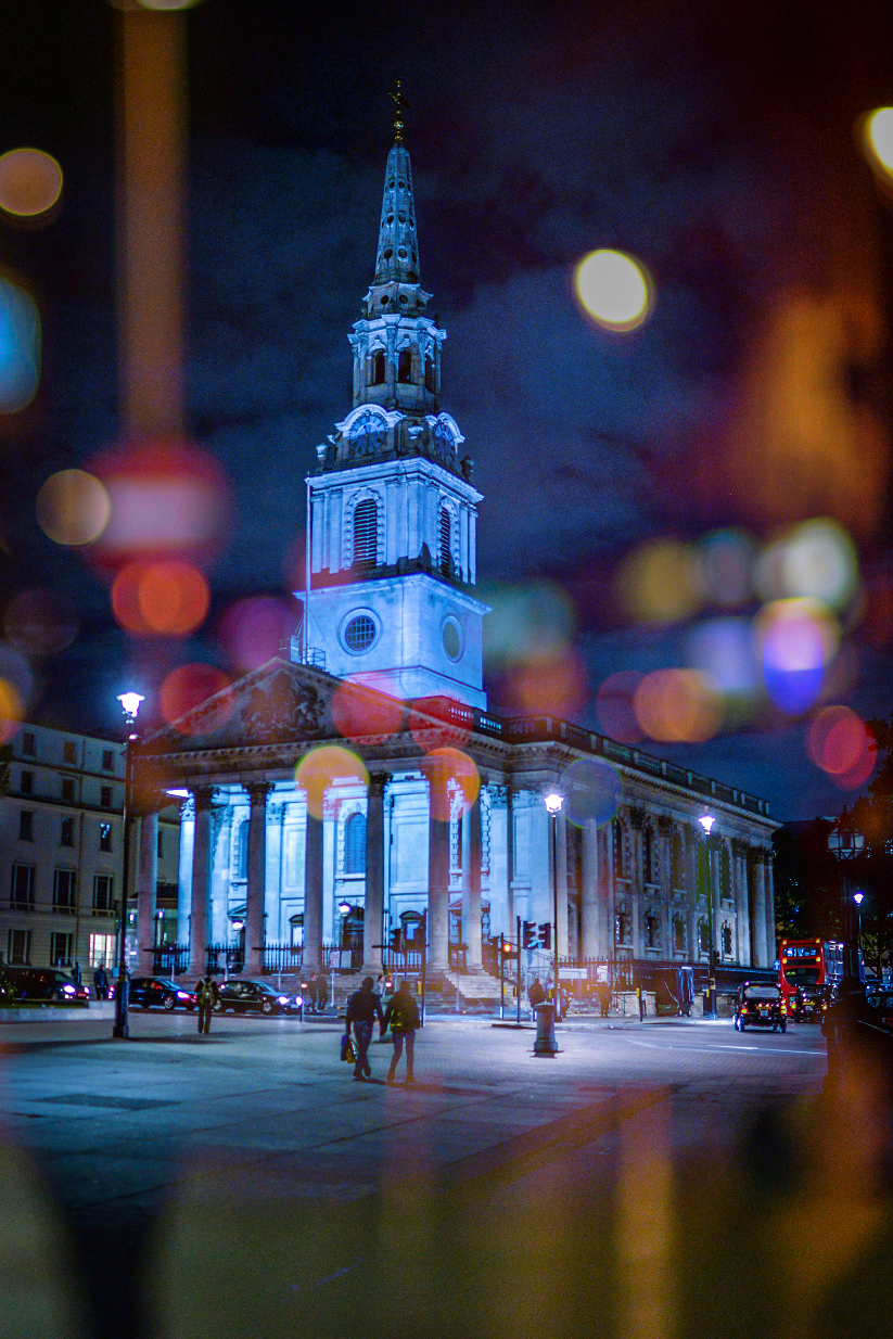 St Martin-in-the-Fields, Trafalgar Square