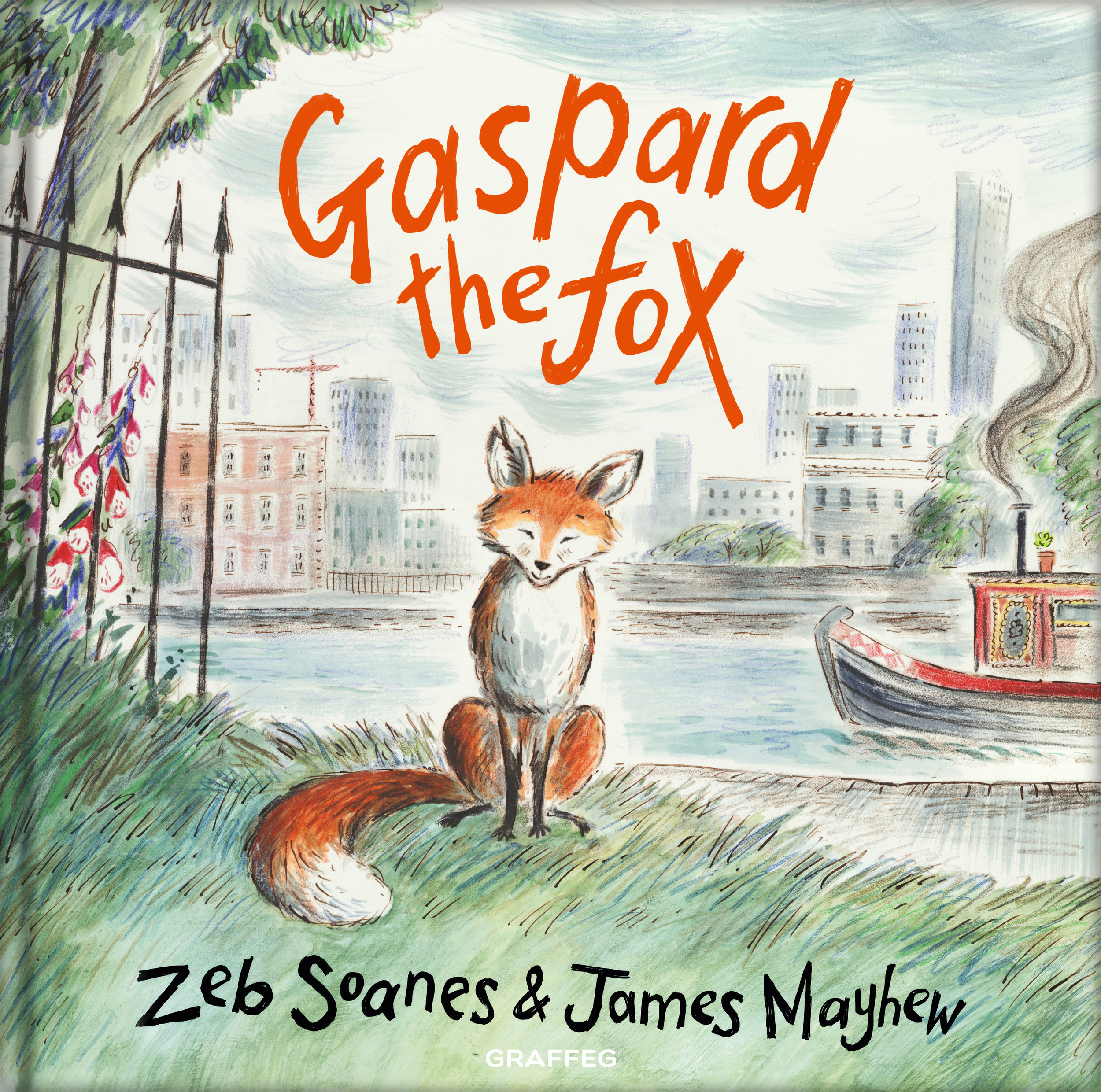Gaspard the Fox,  published by Graffeg, May 2018