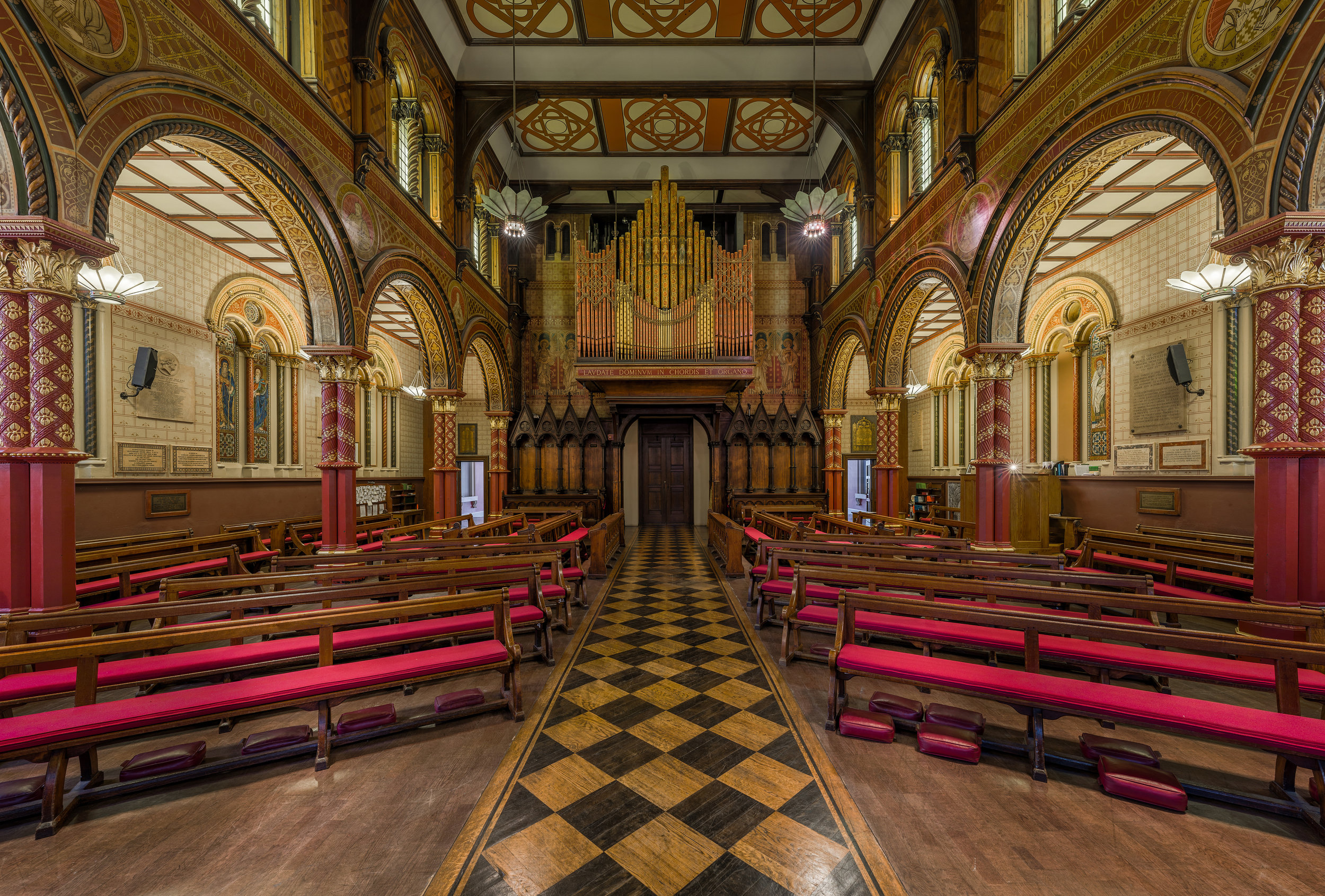 The chapel at Kings College