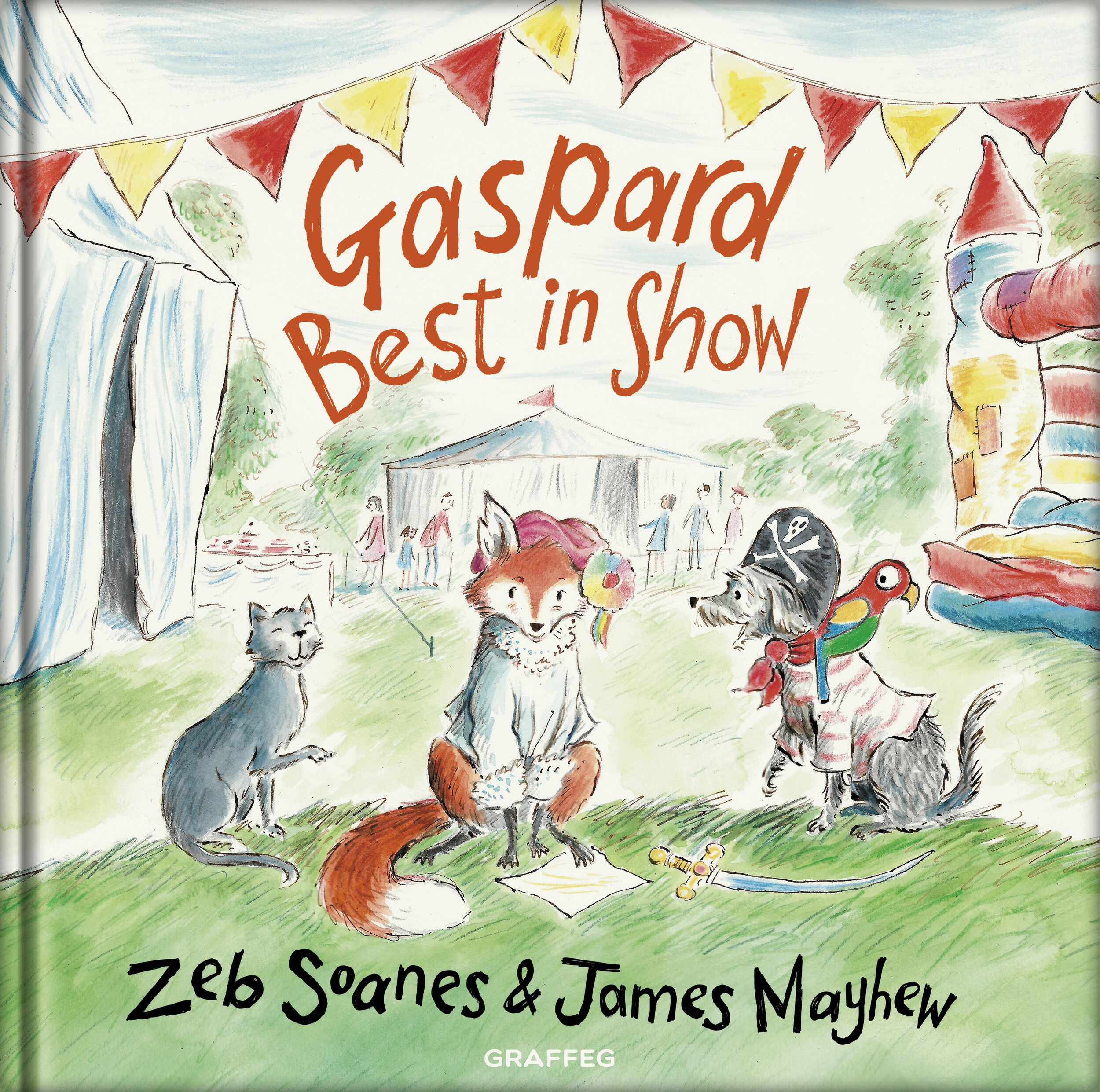 Gaspard Best in Show, published by Graffeg, August 2019