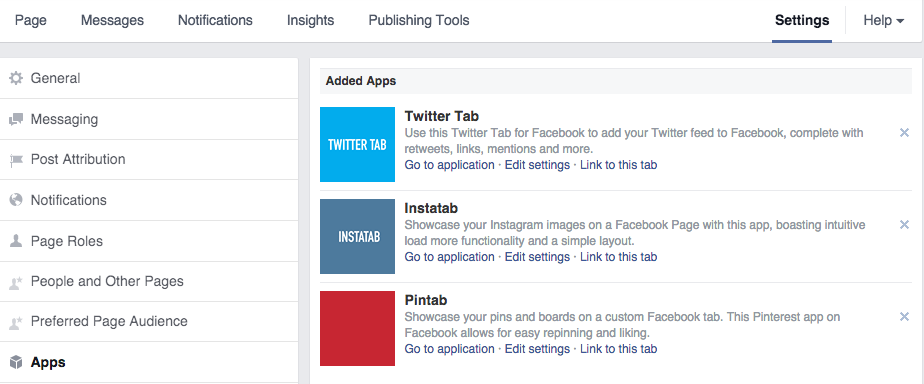 Custom App Tabs On Facebook Page