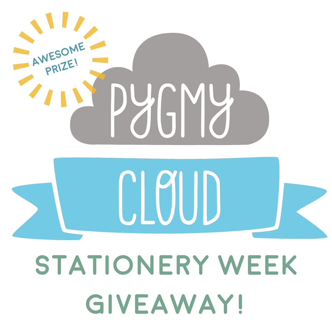 Pygmy Cloud giveaway for Stationery Week on Digibloom blog
