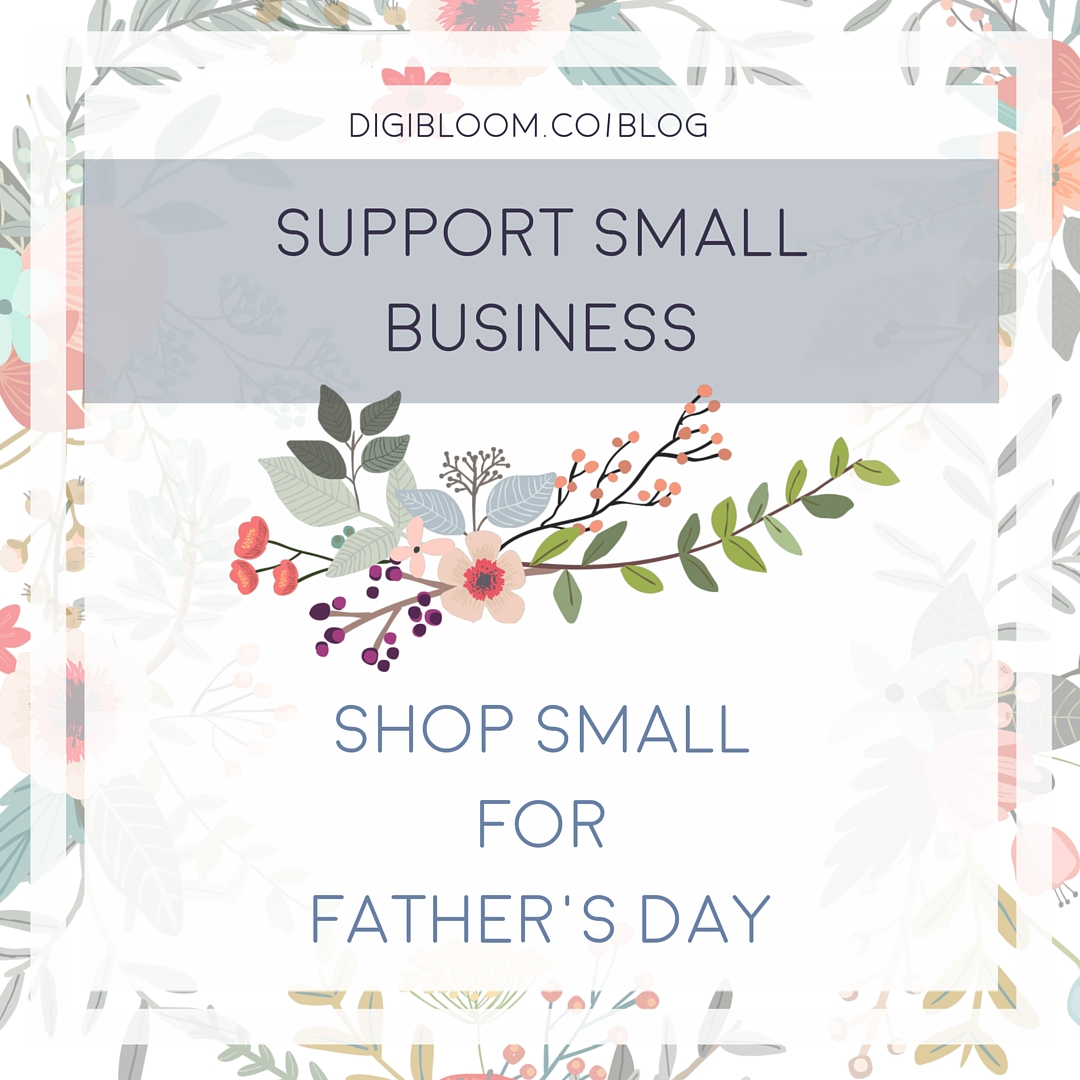 Gift guide for Father's Day with products from small, independent businesses